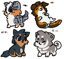 puppy adopts! :OPEN: by falffi