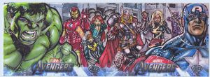Avengers AP cards by Kevin-Sharpe