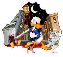 Donald Duck Gone Mad by MysticMorgan