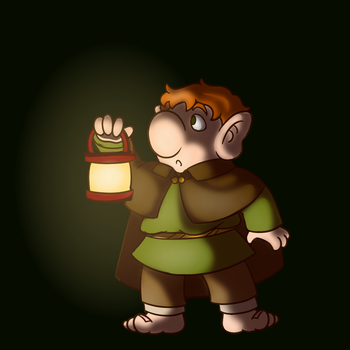 A Hobbit by chisanaAii