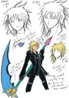 Alraune Concept Sketches by arjuu-na