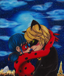 LadyNoir - Be mine my Lady by Xx-Syaoran-kun-xX