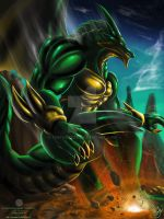 Neo Epical defender element - Earth draconer by thefastzza