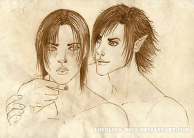 Provoking Alec series 1 - sketch by Loveless-Doll