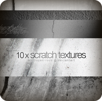 10 x Scratch Textures by frozen-roos