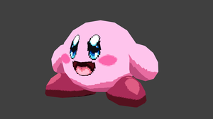 Kirby Render by rongs1234