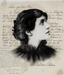Lou Andreas-Salome by Shesvii