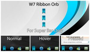 W7 Ribbon Orb Blue by MetalIrving