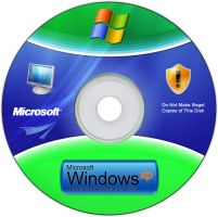 Windows XP CD +PSD by eweiss