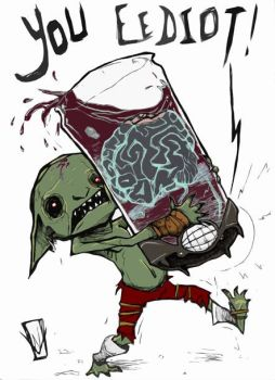 Brain in a Jar by From-the-Naught