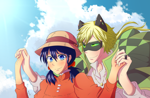 Adrien's Moving Castle by Marima15