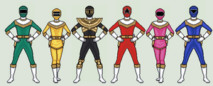 Power Rangers Zeo by vandersonmetal