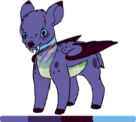 [sarpg]Lucia|tufted deer|female by millemusen