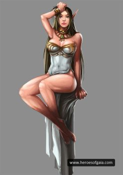 Sexy Elf by dingding83