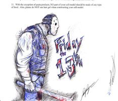 Friday the 13th by ObsessiveSketch