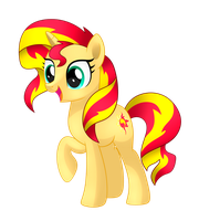 Sunset Shimmer by MirrorCrescent