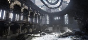 Rose Miller | Mountain Cathedral | 3D Visualizatio by mediaartsdallas