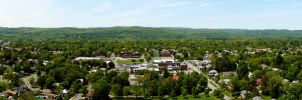 Greenfield Panorama by robertllynch