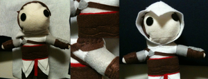 Altair Plushie Completed by SuperiorMushroom