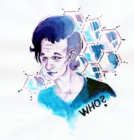 Matt Smith - Doctor who by Opacna-zona