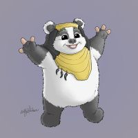 The Hufflepuff Ewok by Buzz-On