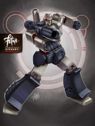 21/32 Robots / MEGATRON by FranciscoETCHART