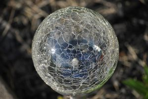 cracked crystal ball by KEArnold