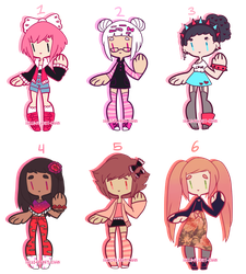 Pretty + Pink { CLOSED } by hello-planet-chan
