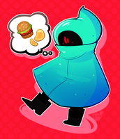 AT: thinkin about snacks by mozalieri