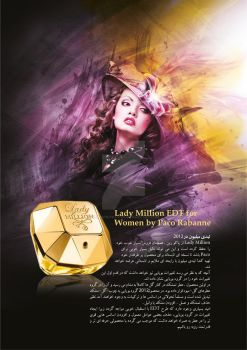 paco Rabanne Lady Million Review For Arian Perfume by MehradCreative