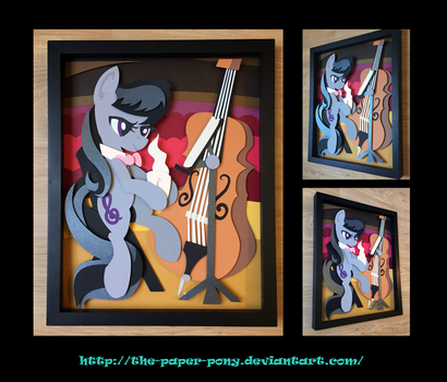 11X14 Octavia Shadowbox by The-Paper-Pony
