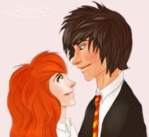 lily n james fanart by OriginalShaggy