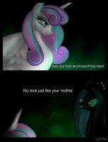 'You look just like your mother' by MarylinnBlack