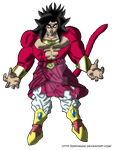 Broly SS4 Kingdom Hearts JR by DrPingas