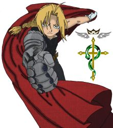 Edward Elric Line Art Coloring by MNSVocaloid