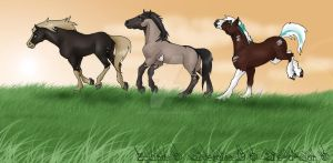 My favourite Equine characters by abosz007