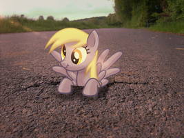 Derpy out of nowhere [PIRL] by colorfulBrony