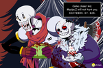 Horrortale-Bone Brothers by k125125123