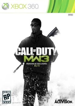 CoD Modern Warfare 3 Ali G edition by ezekdesigns