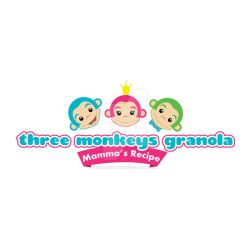 Three Monkeys Logo Design by albundyland