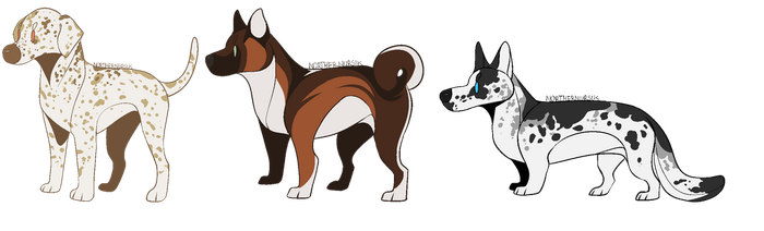 [CLOSED POINT ADOPTABLES] - EXTREMLY CHEAP by NorthernUrsus
