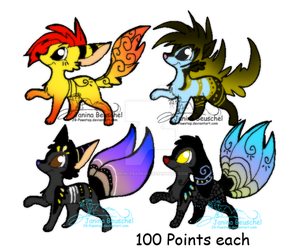 100 Point Adoptables . CLOSED by PrinceBarkin