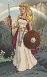 Hippolyta, Queen of the Amazons by jjulie98