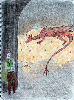 In the Lair of Smaug by windwaker51