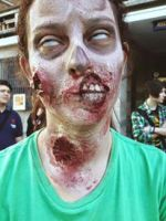 Zombie Makeup by CamilaCostaArt