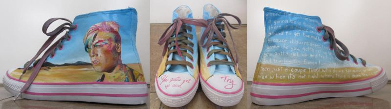 P!nk  shoes by Bubbeeelz