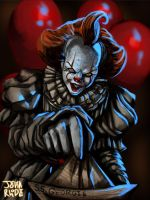 Pennywise The Dancing Clown by First1stClass