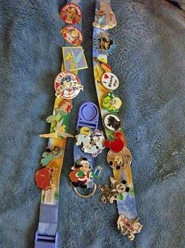 Disney Pin Collection by blunose2772