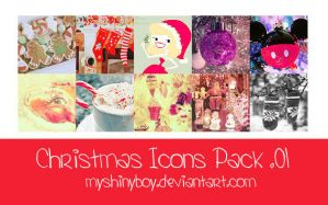 Christmas Icons Pack .01 by MyShinyBoy