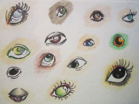 Eyes by MyInkHeart